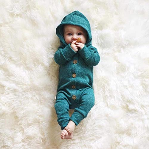Toddler Infant Baby Girls Solid Net Sleeve Rompers Jumpsuit Clothes Tops
