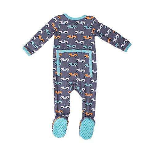 by Infant Boys Baby Sleeper Newborn Footie Pajamas Kozi /& Co Bamboo Clothing