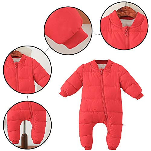 Baby Jumpsuit Outfit Hoody Coat Winter Infant Rompers Toddler Clothing Bodysuit