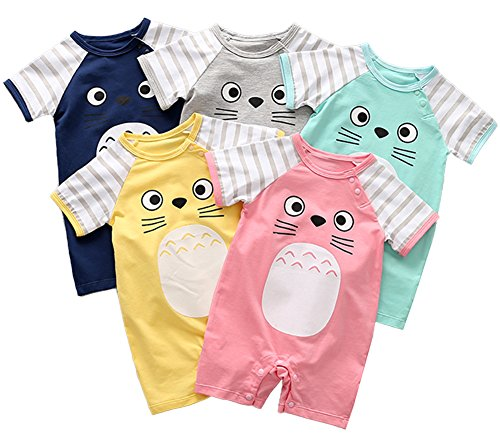 19d1395ea Rompers – stylesilove Adorable Unisex Baby Totoro Short Sleeve ...